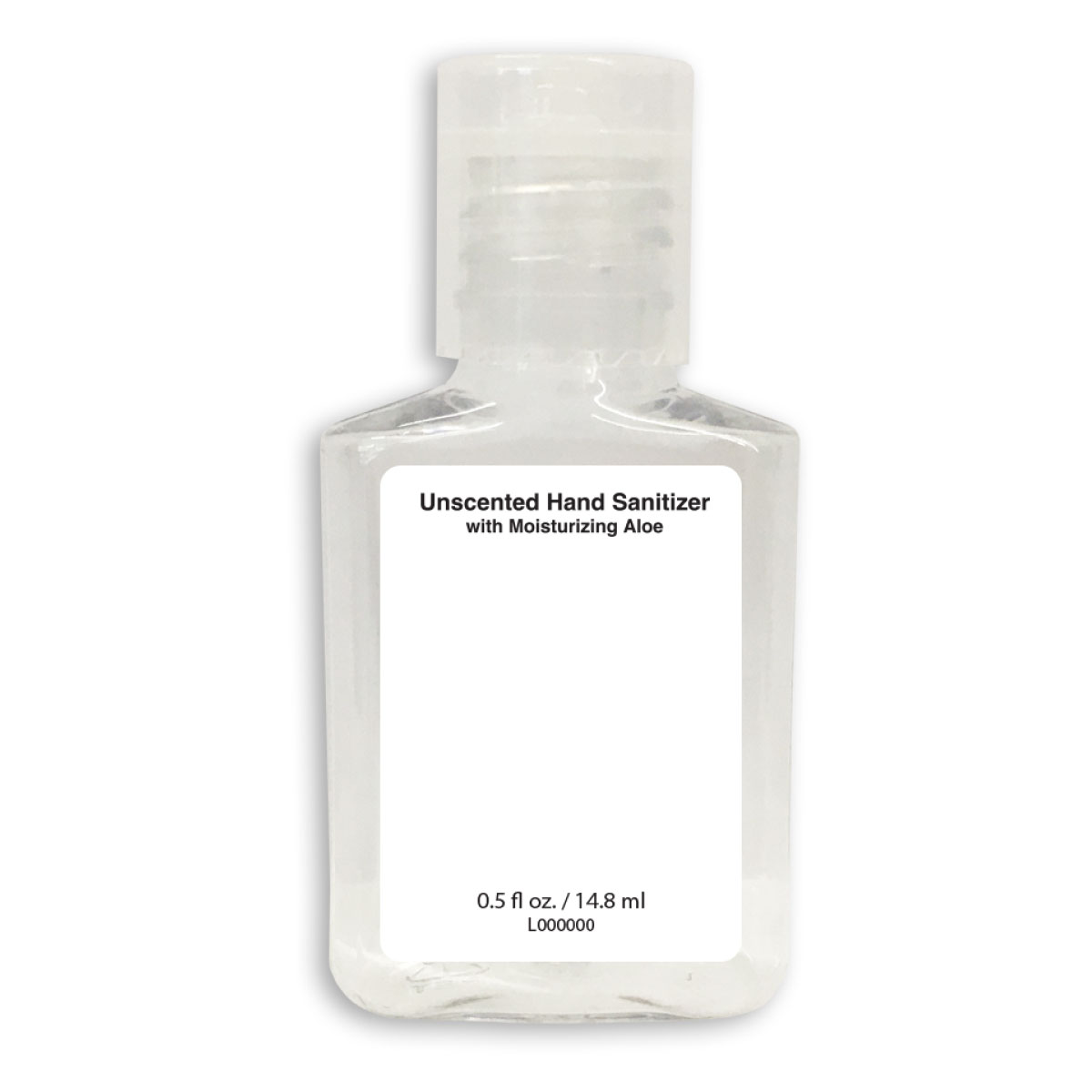 Blank Hand Sani Square Unscented
