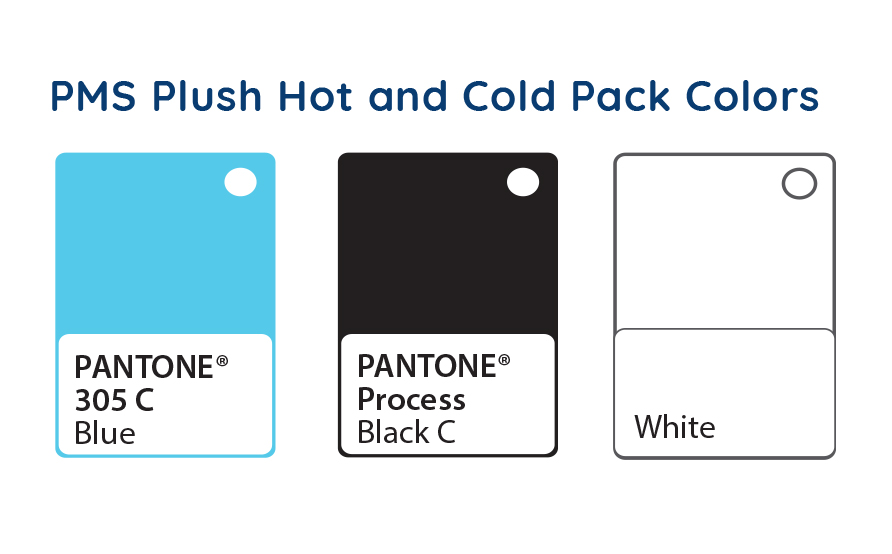 hot cold pack colors
