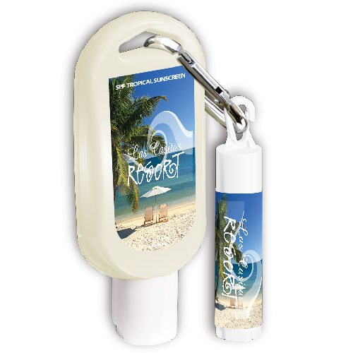 Sunscreen Tottle and Lip Balm Combo